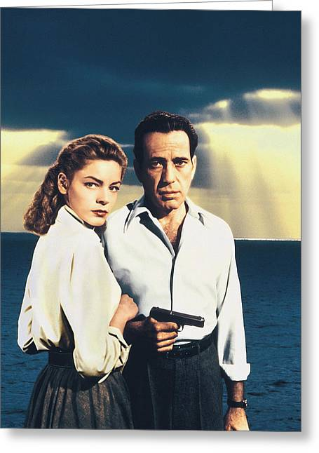 Bacall Greeting Cards - Humphrey Bogart Greeting Card by Silver Screen