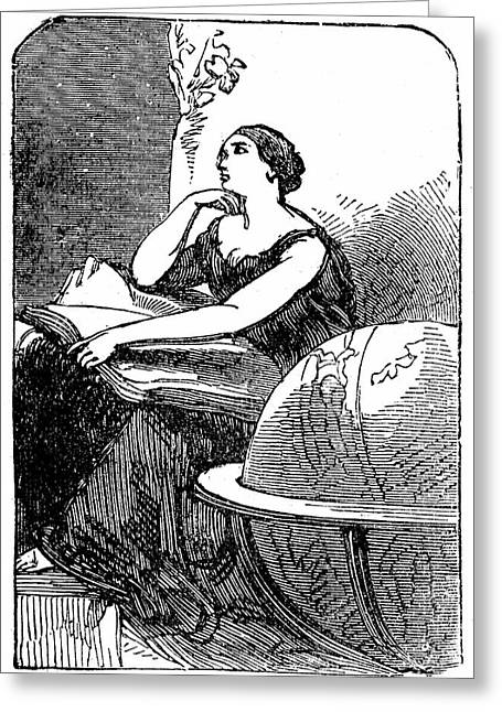 Hypatia Greeting Card by Universal History Archive/uig