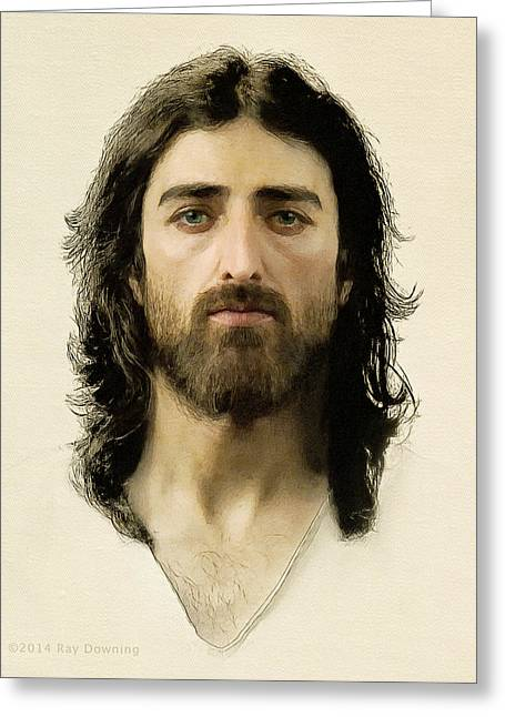 Christ work Digital Greeting Cards - I Am the Way Greeting Card by Ray Downing