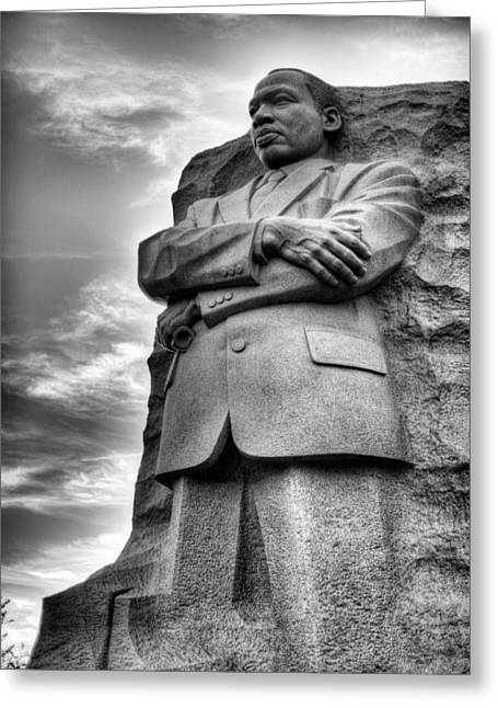 Black History Greeting Cards - I have a Dream  Greeting Card by JC Findley
