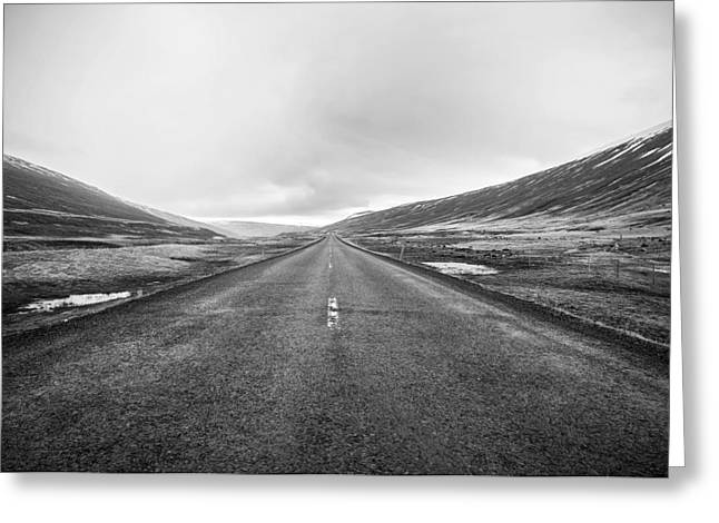 Mountain Road Greeting Cards - Icelandic Journey Greeting Card by Mountain Dreams