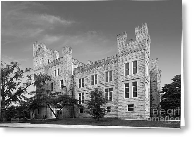 Altgeld Hall Greeting Cards - Illinois State University Cook Hall Greeting Card by University Icons