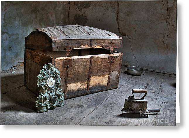 Basement Greeting Cards - In the attic Greeting Card by Sinisa Botas