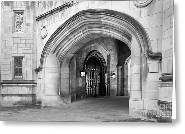 Indiana University Greeting Cards - Indiana University Memorial Hall Greeting Card by University Icons