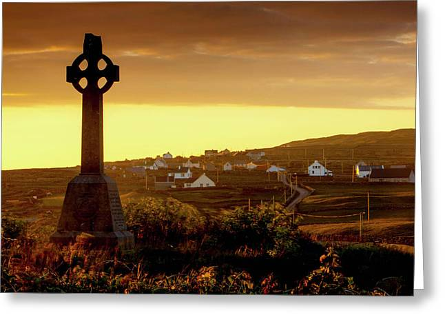 Inishmore Island Greeting Card by Tom Norring