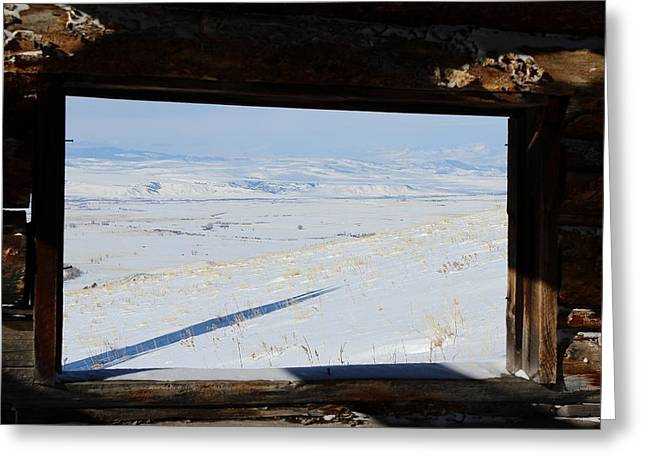 Land Reclamation Greeting Cards - Inside Looking Out Greeting Card by Mark Eisenbeil