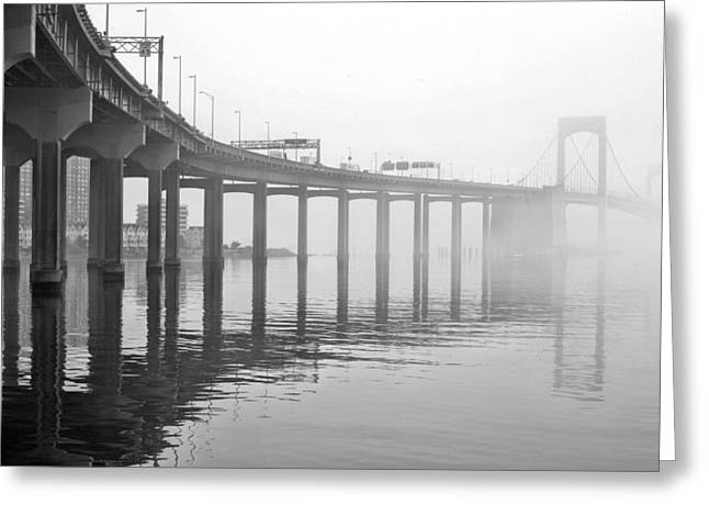 The Bronx Greeting Cards - Into the Mist Greeting Card by JC Findley