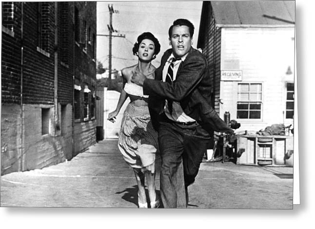 Danae Greeting Cards - Invasion of the Body Snatchers  Greeting Card by Silver Screen