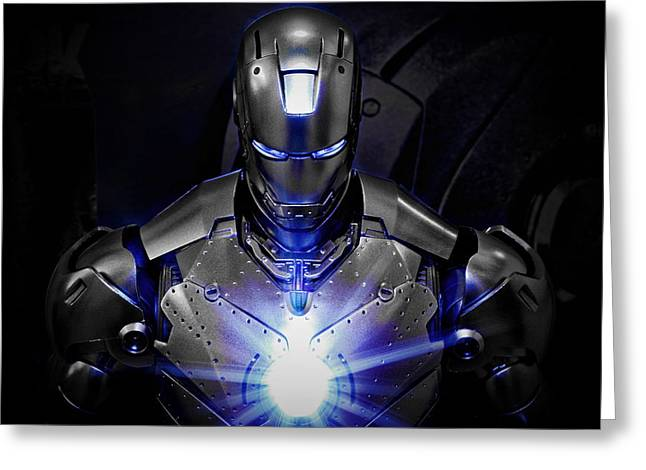 Ironman Mkii Greeting Card by Suradej Chuephanich