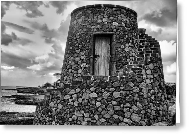Island Fortress Greeting Card by Mountain Dreams