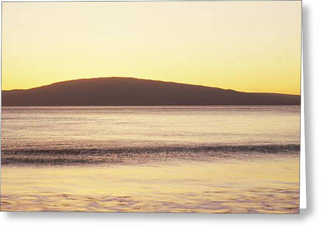 Ocean Photography Greeting Cards - Island In The Pacific Ocean, Hawaii, Usa Greeting Card by Panoramic Images
