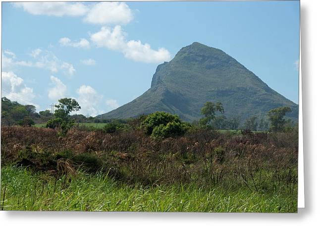 Island Of Mauritius Greeting Card by Cindy Miller Hopkins