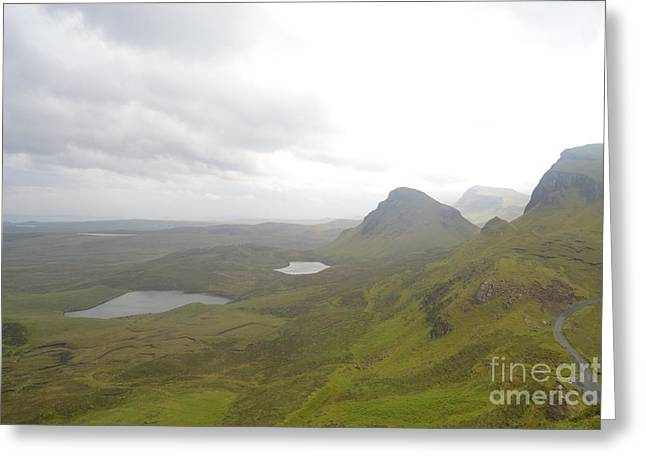 Awesome Pyrography Greeting Cards - Isle of Skye II Greeting Card by Miryam  UrZa