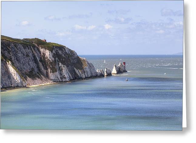 The South Photographs Greeting Cards - Isle of Wight Greeting Card by Joana Kruse