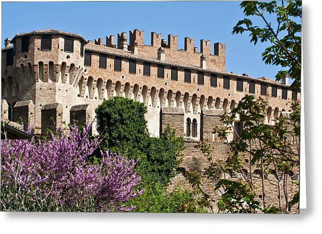 Borgia Greeting Cards - Italian Renaissance Town Greeting Card by Bruno Paolo Benedetti