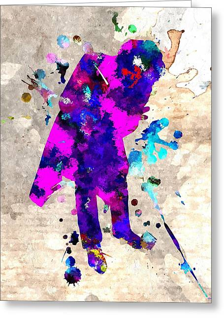 Ledger; Book Mixed Media Greeting Cards - J Oker  Greeting Card by Daniel Janda