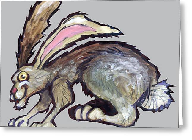 March Hare Greeting Cards - Jack Rabbit Greeting Card by Kevin Middleton