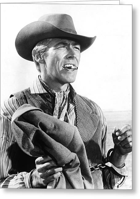 James Photographs Greeting Cards - James Coburn Greeting Card by Silver Screen