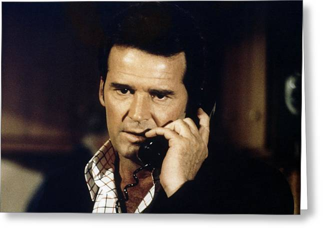 Garner Greeting Cards - James Garner in The Rockford Files  Greeting Card by Silver Screen