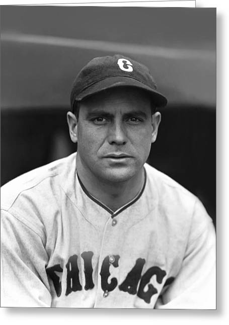 Mlb All Stars Greeting Cards - James L. Luke Sewell Greeting Card by Retro Images Archive