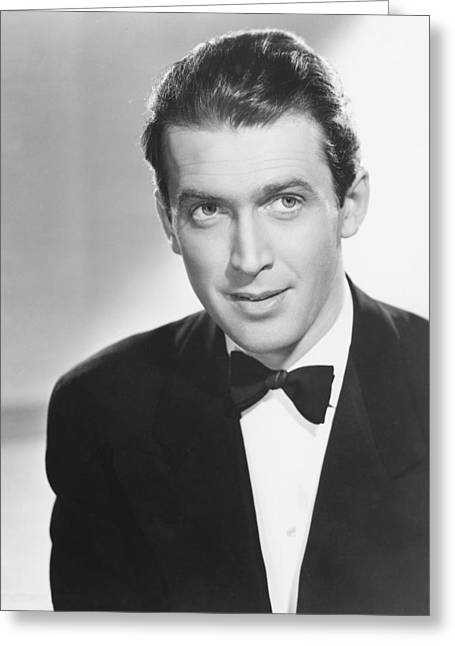 James Photographs Greeting Cards - James Stewart Greeting Card by Silver Screen