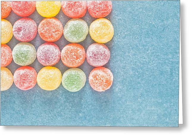 Kids Party Greeting Cards - Jelly sweets Greeting Card by Tom Gowanlock