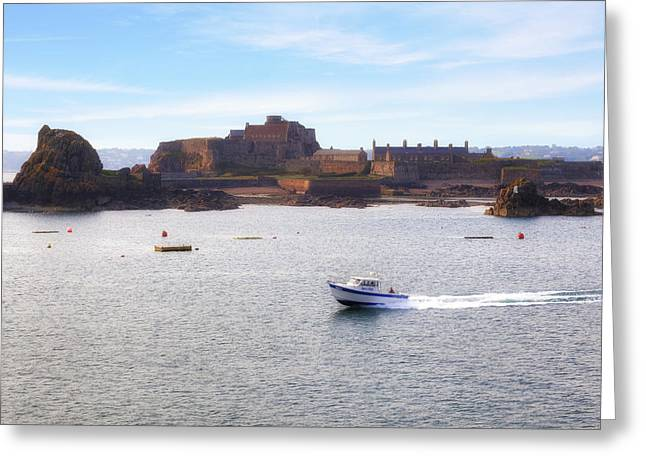 Jersey - Elizabeth Castle Greeting Card by Joana Kruse