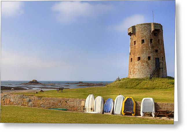 Jersey - Le Hocq Greeting Card by Joana Kruse