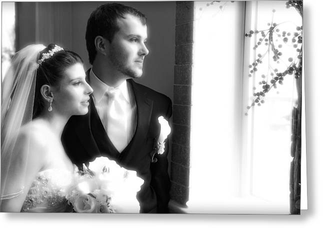 Youthful Photographs Greeting Cards - Jessica and Artem Greeting Card by Rick Berk