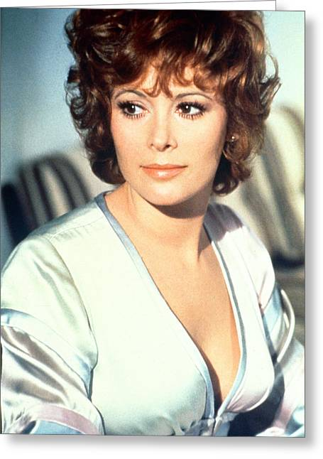 Diamond Photographs Greeting Cards - Jill St. John in Diamonds Are Forever  Greeting Card by Silver Screen