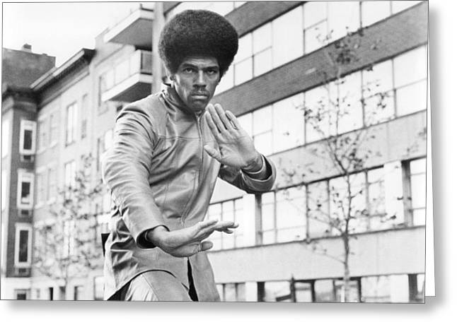 Jim Greeting Cards - Jim Kelly Greeting Card by Silver Screen