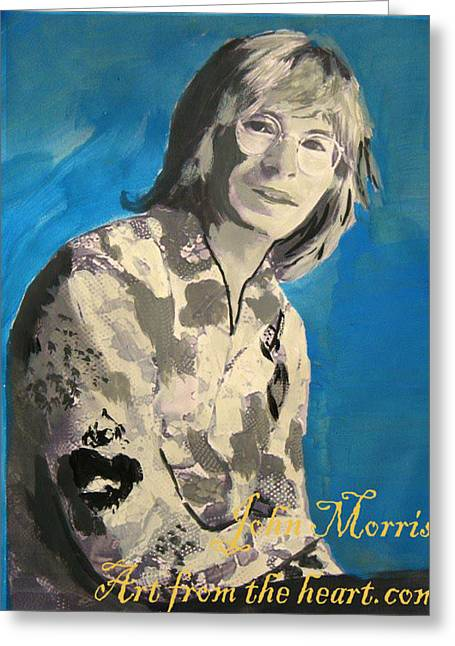 Denver Artist Greeting Cards - John Denver Greeting Card by John Morris