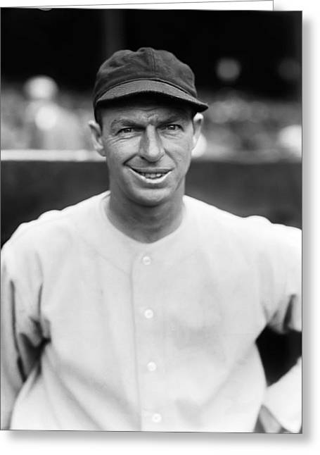 Washington Baseball Greeting Cards - John F. Kerr Greeting Card by Retro Images Archive