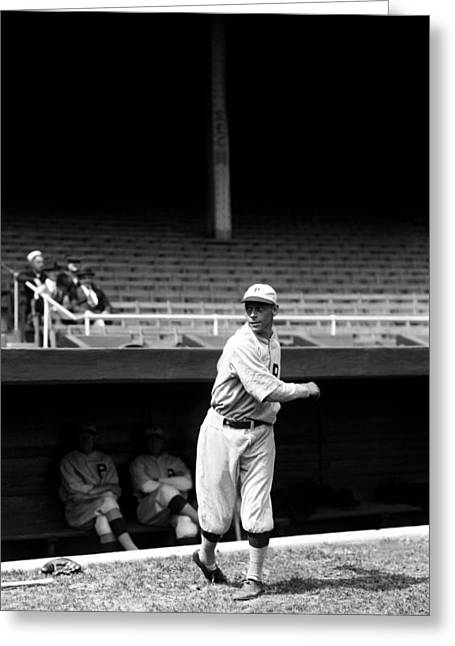 Usa National Team Greeting Cards - John H. Heinie Sand Greeting Card by Retro Images Archive