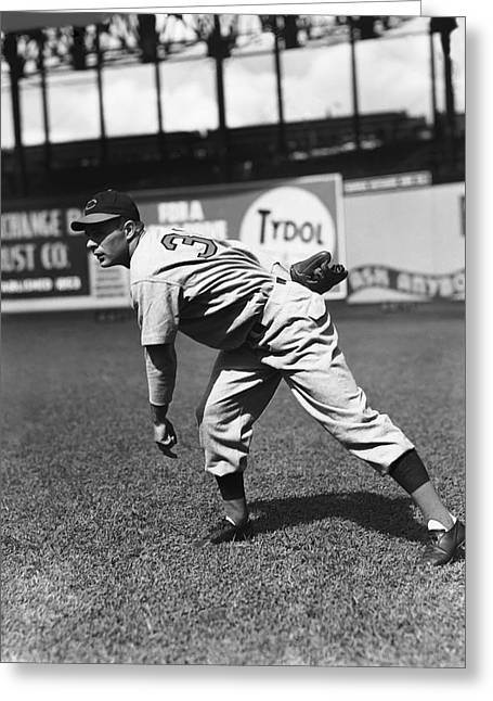 Baseball Game Greeting Cards - John S. Johnny Vander Meer Greeting Card by Retro Images Archive