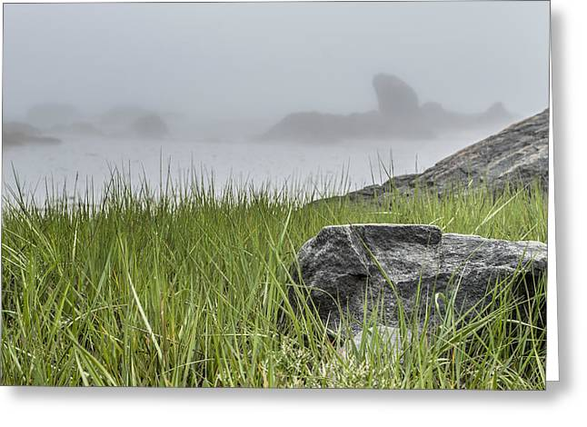 Ocean Art Photography Greeting Cards - Johns Cove  Greeting Card by Garvin Hunter