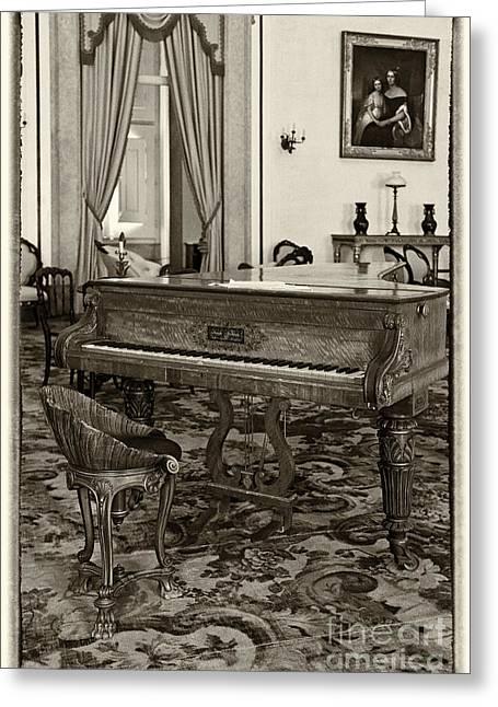 Mafra Greeting Cards - Joseph Kirkman Piano Greeting Card by Spart - Jose Elias - Sofia Pereira