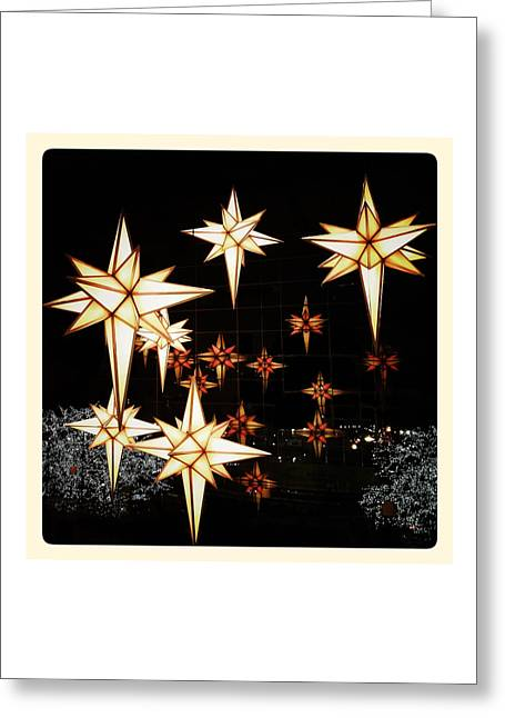 Joy To The World Greeting Cards - Joy to the World Greeting Card by Natasha Marco
