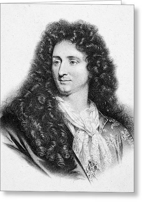 Jules Hardouin-mansart (1646-1708) Greeting Card by Granger