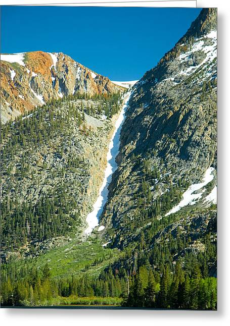 Snowy Mountain Loop Greeting Cards - June Lake Loop Greeting Card by Celso Diniz