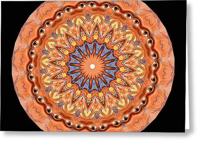 Symmetry Greeting Cards - Kaleidoscope Anatomical Illustrations Seriesi Greeting Card by Amy Cicconi