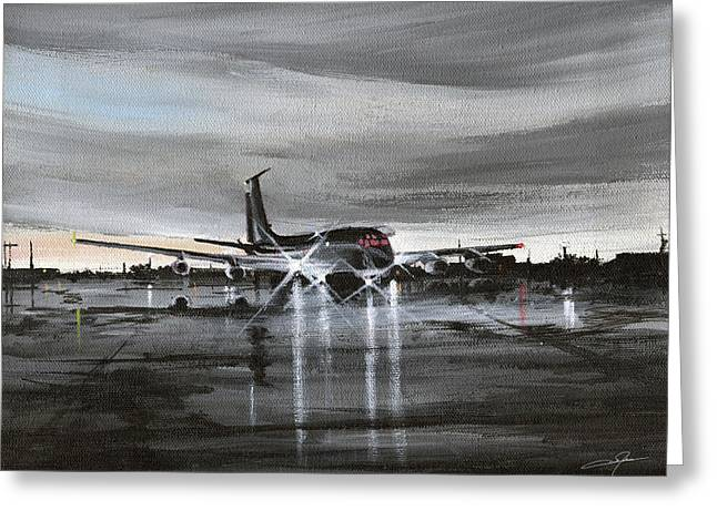 Kc Greeting Cards - Kc-135a Greeting Card by Dale Jackson