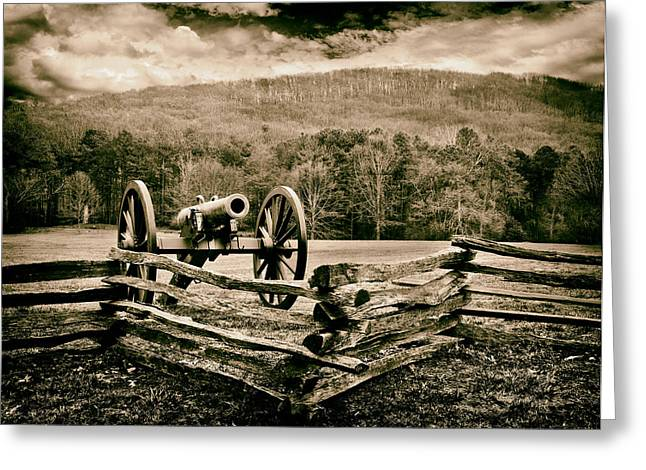 Kennesaw Mountain Greeting Card by Robert Hainer
