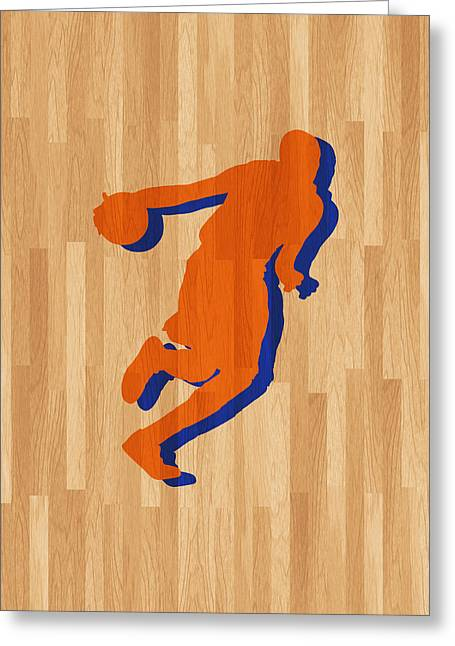 Kevin Durant Oklahoma City Thunder Greeting Card by Joe Hamilton