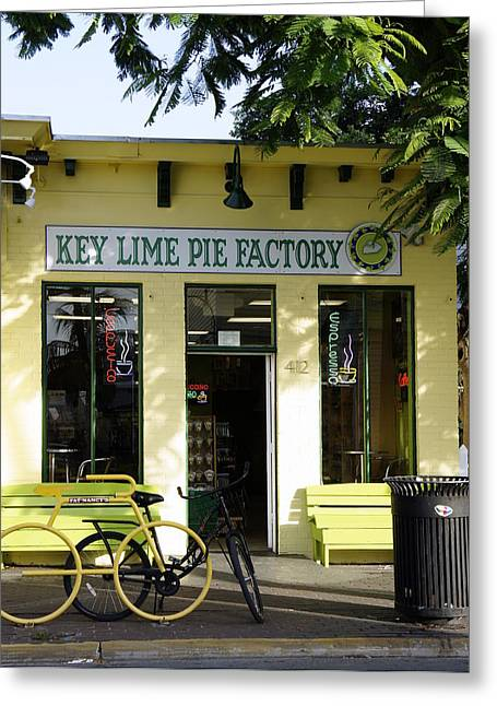 Laurie Perry Greeting Cards - Key Lime Pie Greeting Card by Laurie Perry