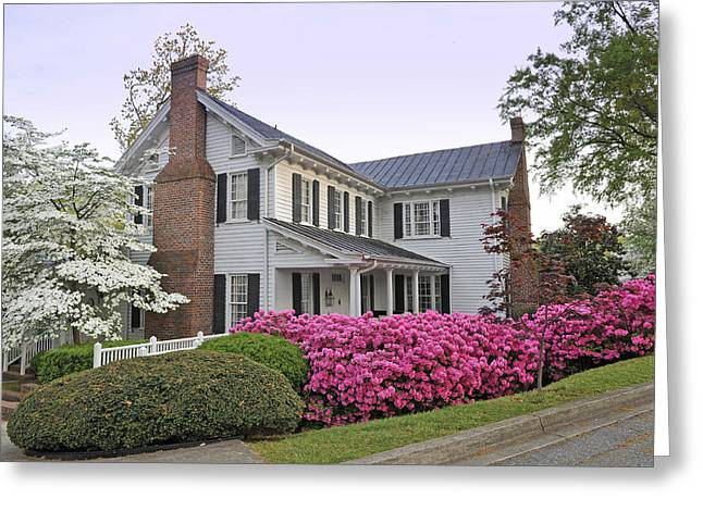 Kilgore-lewis House  Greenville Sc Greeting Card by Willie Harper