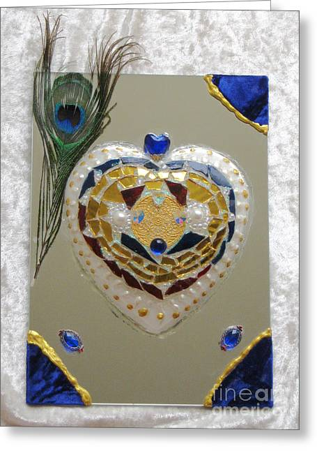 Souls Glass Greeting Cards - King Ludwig 2 Greeting Card by Heidi Sieber