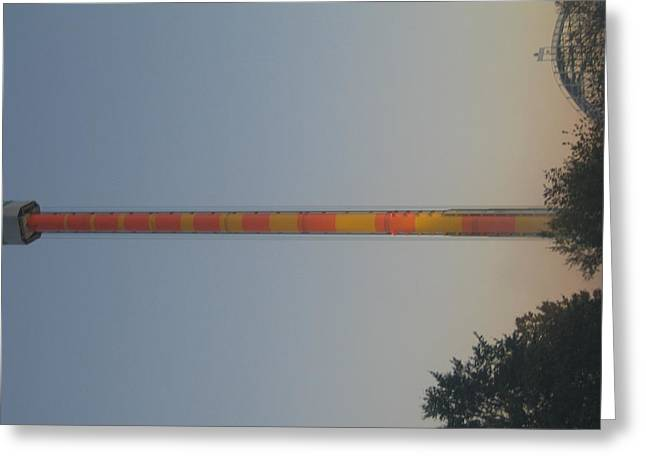 Kings Dominion - Drop Tower - 12122 Greeting Card by DC Photographer