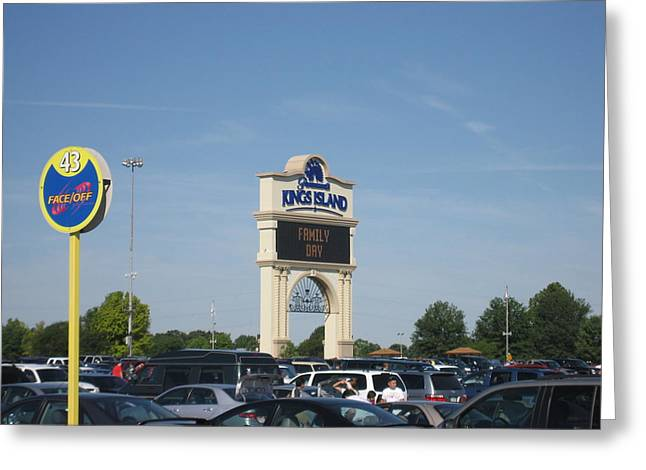 Kings Island - 12121 Greeting Card by DC Photographer