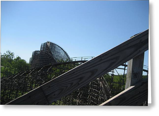 Ohio Photographs Greeting Cards - Kings Island - 121212 Greeting Card by DC Photographer